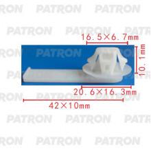 Держатель пластмассовый PATRON  / P37-2077