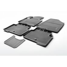 Коврик в салон Rival для Chevrolet Orlano 2011 - полиуретановый черный 1 шт. / 11005002