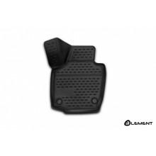 Коврик салона 3D передний левый Element SKODA Rapid, 2013, полиуретан черный 1 шт. / ELEMENT3D4515210kFL