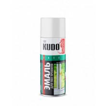 Краска для ПВХ профиля KUDO эмаль-спрей белая 520мл / KU-6101