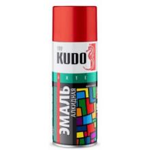 Краска Желтая KUDO 520мл аэрозольная / KU-1013