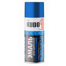 Краска для двигателя KUDO черная 520 мл / KU-5131