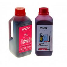 Автошампунь для бесконтактной мойки LAVR COLOR розовая пена 1,2 кг / LN2331