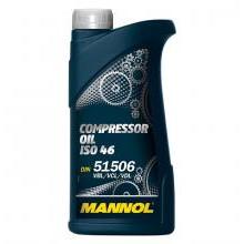 Масло компрессорное MANNOL Compressor Oil ISO 46 1 л.