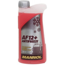 Антифриз MANNOL Antifreeze AF 12-40 red прозр.кан 1л (1,08кг)