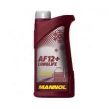 Антифриз MANNOL AF 12-75 red (красный) 1Л