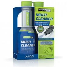 Atomex Multi Cleaner с ревитализантом Эффективный очиститель топливной системы.Бензин и LPG флакон 250мл