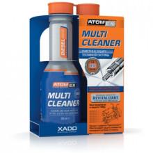 Atomex Multi Cleaner с ревитализантом Эффективный очиститель топливной системы. Дизель флакон 250мл