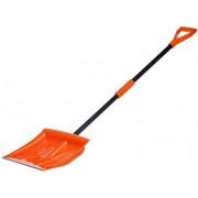 Лопата для очистки снега большая и металл.кантом AIRLINE (145*40 см) / AB-S-05