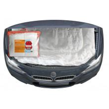 Утеплитель для двигателя AIRLINE, стеклоткань, цвет белый, 140*90 см / ACC-02