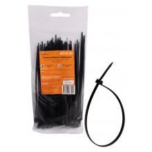 Стяжки (хомуты) кабельные AIRLINE 3,6*150 мм, пластиковые, черные, 100 шт. / ACT-N-20