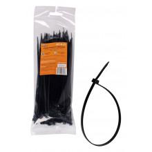 Стяжки (хомуты) кабельные AIRLINE 3,6*200 мм, пластиковые, черные, 100 шт. / ACT-N-22