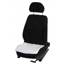 Накидка AIRLINE (подушка) из искусственного меха на сиденье, белая с коротким ворсом, 1 шт. / AFC-A-01