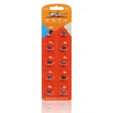 Батарейка AIRLINE AG4/LR626 щелочная 10 шт. / AG4-10