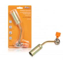 Горелка газовая AIRLINE на резьбовой баллон, ручной поджиг, 20*6,5*3 см / AGT-S-02