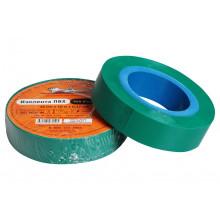 Изолента ПВХ AIRLINE, зеленая, 15 мм*10 м / AIT-P-05