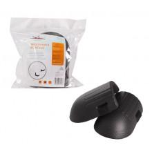 Наколенники защитные, 2 шт., материал EVA, черные AIRLINE / AKP-01