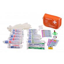 Аптечка автомобильная AIRLINE в текстильном футляре (Соответствует требованиям ГИБДД) / AM-01