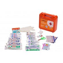 Аптечка автомобильная AIRLINE в пластиковом футляре (Соответствует требованиям ГИБДД) / AM-02