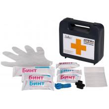 Аптечка первой помощи автомобильная AIRLINE, пластиковый футляр / AM-03