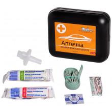 Аптечка первой помощи AIRLINE в дорогу, пластиковый футляр / AM-04