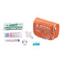 Аптечка первой помощи в дорогу AIRLINE, текстильный футляр / AM-07