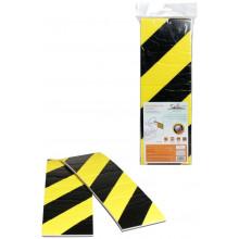 Мат парковочный боковой AIRLINE для защиты дверей 2 шт., самоклеящийся, (0,8*11*33 см) / AMP-SD-01