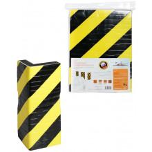 Мат парковочный угловой/фронтальный AIRLINE для защиты кузова 1 шт., самоклеящийся, (3,8*25*33 см) / AMP-SD-02
