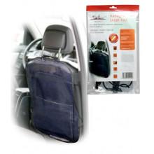 Накидка защитная на спинку переднего сиденья (65*50 см), ПВХ, прозрачная AIRLINE / AO-CS-18
