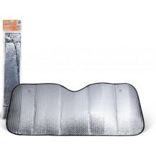 Шторка солнцезащитная 70 см на лобовое стекло (70*120*70*135 см) AIRLINE / ASPS-70-02