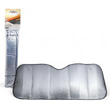 Шторка солнцезащитная 80 см на лобовое стекло (80*145*80*135 см) AIRLINE / ASPS-80-03