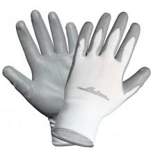 Перчатки AIRLINE нейлоновые с цельным ПУ покрытием ладони / AWG-N-02