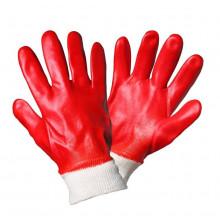 Перчатки AIRLINE маслобензостойкие (МБС) с полным ПВХ покрытием / AWG-O-04