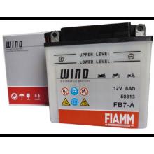 FIAMM 7904439 Аккумуляторная батарея рус 8Ah 80A 135/75/133 FB7-A moto