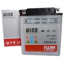 FIAMM 7904447 Аккумуляторная батарея рус 12Ah 130A 134/80/160 FB12A-A moto