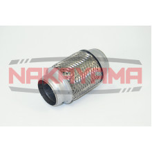 NAKAYAMA Гофра глушителя с внутренней оплеткой (45x120)