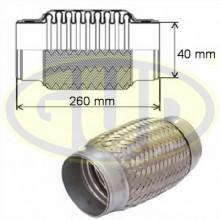 Гофра глушителя G.U.D 40x260 / GFP340260