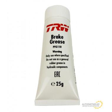 Смазка для тормозных систем 25 гр TRW / PFG110