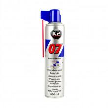Очистительно-смазывающая смесь многофункциональная аэрозоль 400 мл K2 / 0740