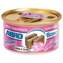 Ароматизатор ABRO Organic Бабл гам / AS560BG