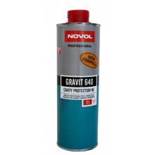 Антикор NOVOL ML GRAVIT 640 бесцветный под пистолет для закрытых полостей 1 л / 37701