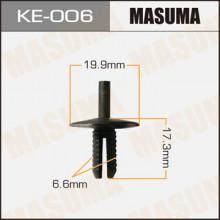 Клипса пластиковая MASUMA (BMW 51111944537)  / KE006