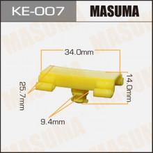 Клипса пластиковая MASUMA (BMW 51138166675)  / KE007