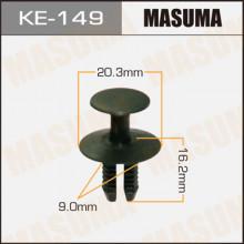Клипса пластиковая MASUMA (BMW 51471911992)  / KE149