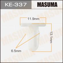 Клипса пластиковая MASUMA (BMW 51471840960)  / KE337