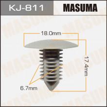 Клипса пластиковая MASUMA (MITSUBISHI MB643846)  / KJ811