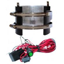 Подогреватель топливного фильтра GLOBAL PRO, 73-88 мм, высота 135 мм