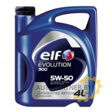 Моторное масло ELF EVOLUTION 900 5W50 / 194830 (4л)