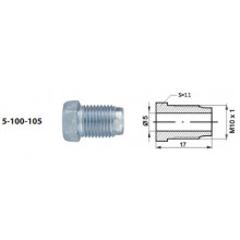 Тормозная трубка WP длина 1000 мм / WP019